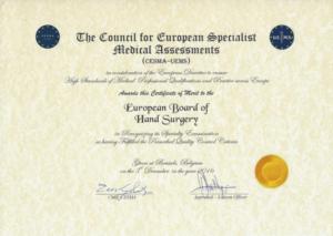 Examination Committee – FESSH – Federation of European